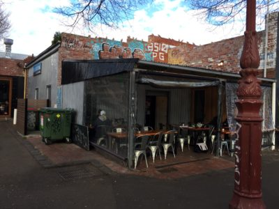Local Yarraville Cafe Roof repairs